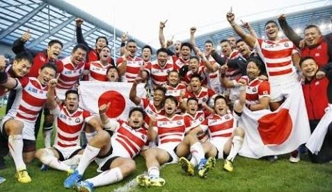 かっこいい! ラグビー 日本代表